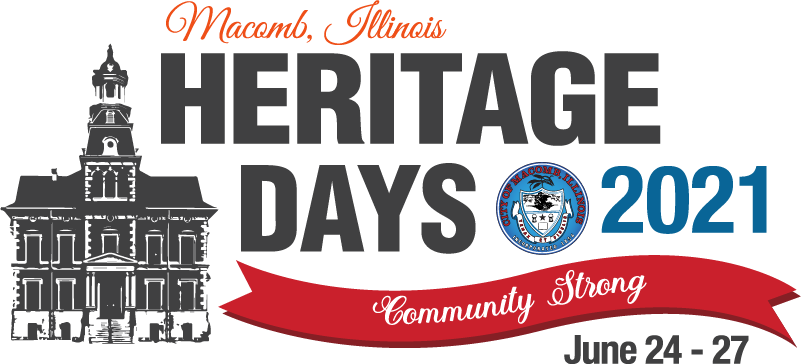 Macomb Illinois Heritage Days 2021 Community Strong June 24-27